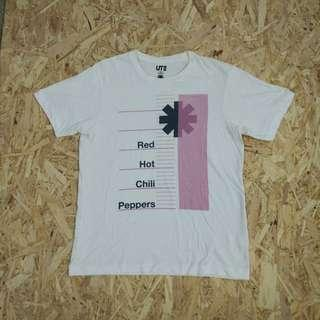 uniqlo x red hot chili peppers t shirt original