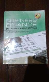 Business Finance in the Philippine Setting