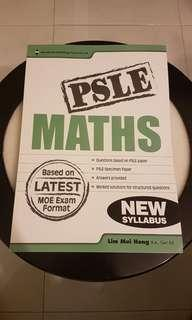 NEW, PSLE MATHS Assesment book!