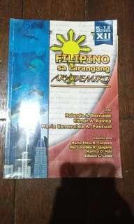 Filipino sa Larangang Akademiko