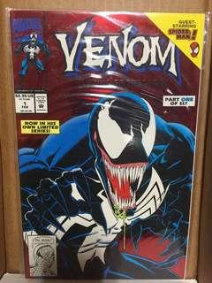 Venom Lethal Protector 1992 #1 and #2