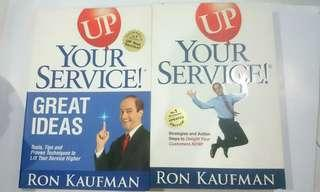 Up your Service with author's signature