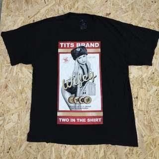 tits t shirt original