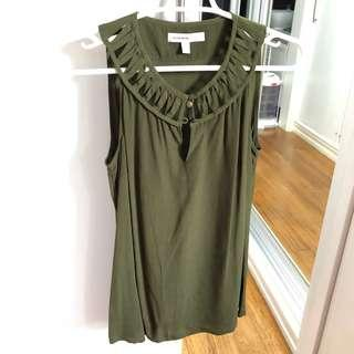 Banana Republic Green top