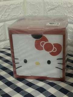🚚 Hello kitty 收納盒 疊疊樂積木盒