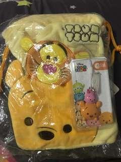 Winnie the Pooh ezlink charm+pouch