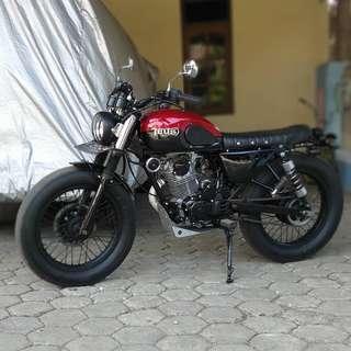 Motor Honda Megapro