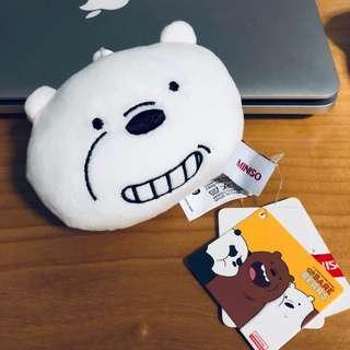 Miniso Ice Bear Plushie