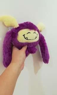 Emirates Fluffy Purple Monster