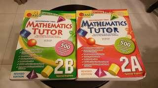 SEC 2 Maths Asessment Books (2A&B)