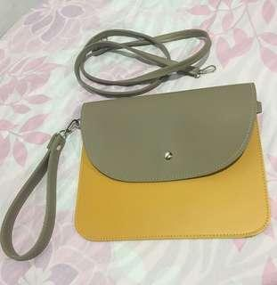 Envelope Bag with Detachable Sling