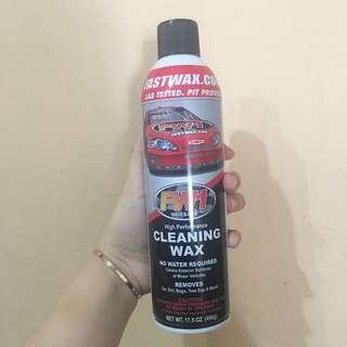 cleaning wax mobil (free cloth)
