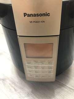 Panasonic樂聲牌電子高速煲萬用智能煲6L SR-PG601-KN