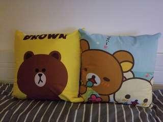聖誕優惠 小熊cushion 45 cmx45 cm($120 2個)