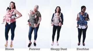 Baby tula explore series bloom forever Everblue sleepy dust