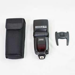 Canon Speedlite 580EXII flash