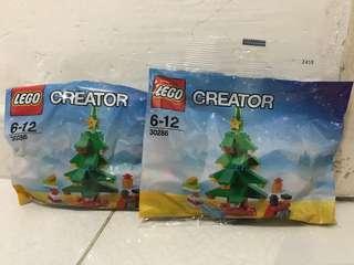 Lego 30286 x'mas tree