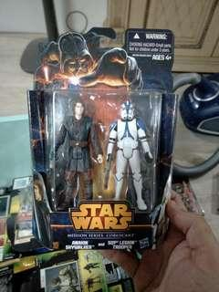 Star Wars Mission Series: Coruscant Anakin Skywalker and 501st Legion Trooper