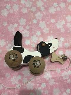 ✌🏻木製狗仔車玩具
