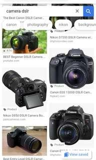 buying looking for canon nikon dslr with liveview