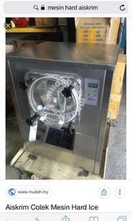 Machine hard ice cream colek