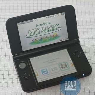 Mint Look Authentic NINTENDO 3DS XL Game Console with Warranty