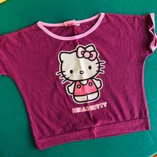 Hello Kitty Purple Top