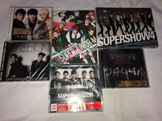[FINAL CLEARANCE] SUPER JUNIOR ALBUMS