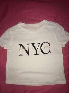 New York City Crop Top
