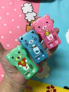 🚚 全新可愛熊熊削鉛筆機(三色)