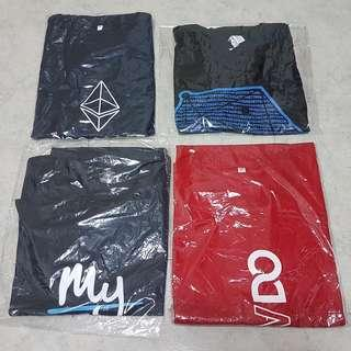 $12 for four T-shirt brand new cheap sale !