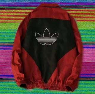 🚚 Adida拼接愛迪達古著外套夾克