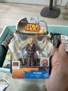 Star Wars The Clone Wars Plo Koon 3.75""