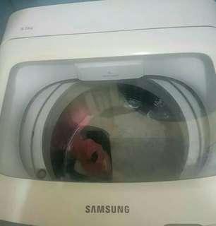 Jual mesin cuci samsung mulus