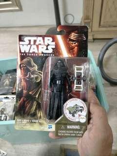 "Star Wars The Force. Awakens Kylo Ren 3.75"""