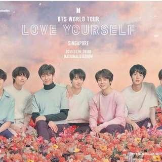 [SELLING] BTS LY WORLD TOUR SG TICKET