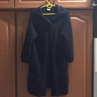 Esprit Hooded knitted jacket