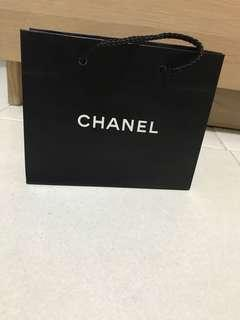 Authentic Chanel paper bag. Small size