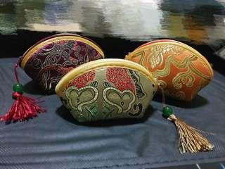 Vintage traditional Chinese Embroidered Pouch