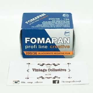 Foma Fomapan Creative 200 35mm Black and White Negative Film (36 shots)