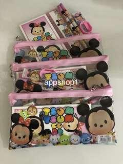 Pink tsum tsum stationary packages- preschool party goody bag, goodie favors