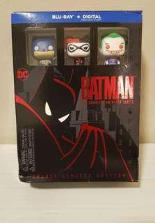 Blu Ray The Complete Batman The Animated Series Deluxe Limited Edition 100% Authentic Funko Pocket POP