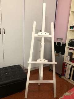 White easel stand rental $50