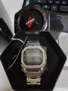100% ori G shock gmw b5000d new credit card accepted