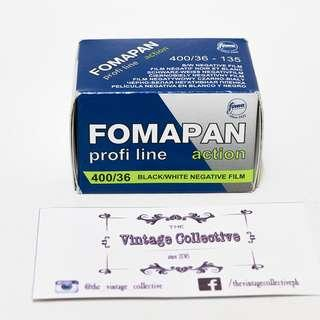Foma Fomapan Action 400 35mm B&W Negative Film (36 shots)