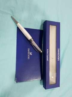 Swarovski Active Crystal USB Pen (White Pearl)