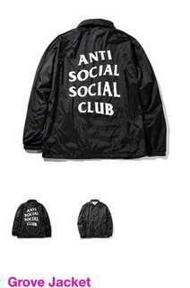 全新Anti Social Social Club GROVE JACKET