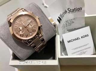 Micheal kors rose gold Original💯 sale