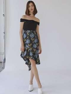 🚚 Collate Plumette Asymmetrical Dress
