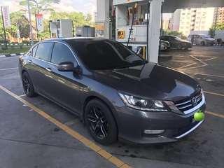 Honda Accord 2.0 VTi-L (Full Spec) Auto Dark Grey 2014 - Sambung Bayar